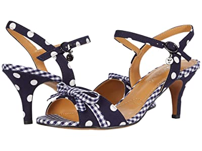 J. Renee Katiebeth (Navy/White Polka Dot) Women