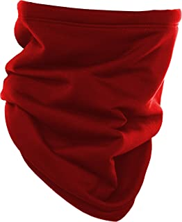 TOUCAN Red Pineapple Winter Neck Gaiter Face Mask Mens Womens Thermal Sport Headwear