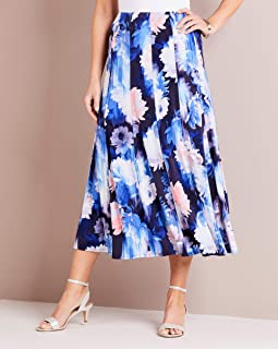 Womens Centre Front Pleat Maxi Skirt JD Williams