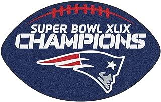 FANMATS New England Patriots Super Bowl XLIX Champions Football Rug