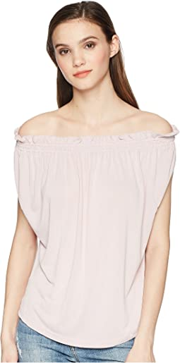 Lucky Brand - Sandwash Off the Shoulder Top
