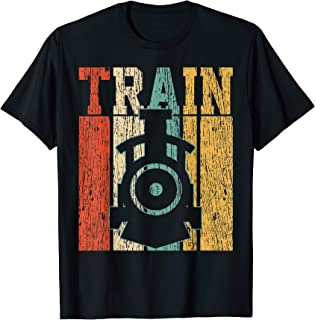 Trains T-Shirt Models Tshirt Rails Tee Tracklines Gift
