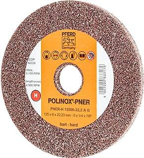 Polinox kompakt sliphjul PNER – för vinkelslipare och kalksömnadsslipare – Ø125 mm, b: 6 mm, RPM: 6 100
