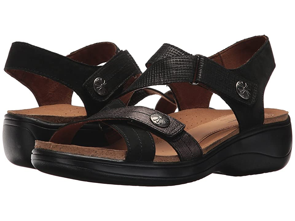 Rockport Cobb Hill Collection Cobb Hill Maisy Cross Band (Black Multi) Women