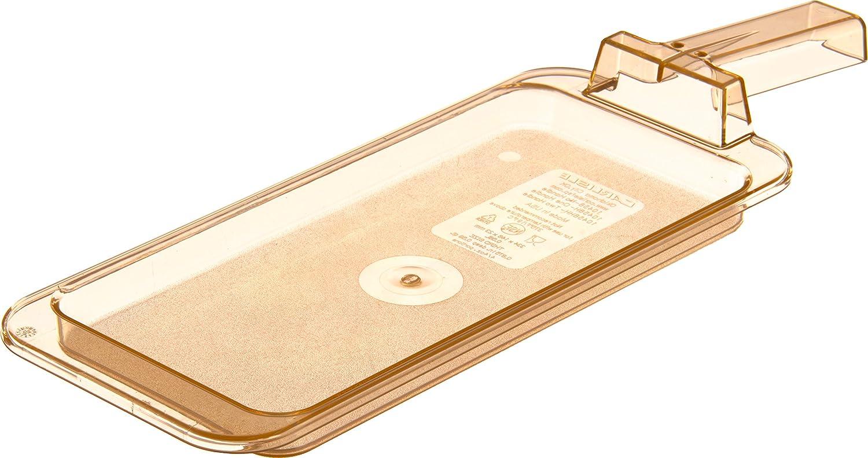 Carlisle 10458H13 Topnotch High Plastic Heat Financial sales sale Cheap sale Amber