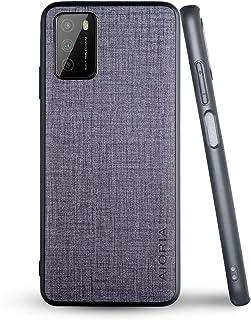 人気の新商品Xiaomi Poco M3 ケース スマホケース高級完全に保護 (Poco M3, Gray)