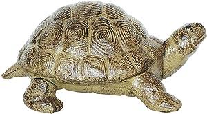 La figura tortuga escultura de hierro fundido pesado 3,5kg escultura jardin Pond