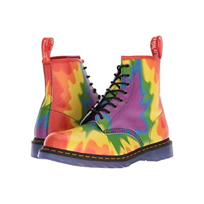 Dr. Martens 1460 (Pride Tie-Dye Print Backhand) Lace-up Boots