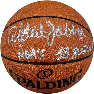 kareem abdul jabbar autographed basketball