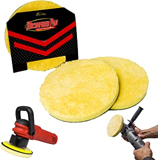 Microfiber DA Buffing and Cutting Pads 2 Pack of 6
