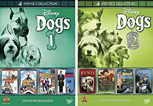 Disney Dogs Collection (Shaggy Da / Shaggy Dog (1959) / Shaggy Dog (2006) / The Ugly DachshundJourney Natty Gan /Rascal / Benji the Hunted / Where the Red Fern Grows) 8-Movie Bundle