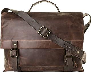 """Harold""""s Messenger-Bag 40 x 33 x 13 cm Notebookfach 15 Laptop-Tasche Leder 254302"""