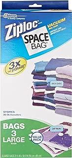 Space Bag # BRS-5303ZG Vacuum Seal Clear Storage Bags, Set of 3 Large Bags (21.5