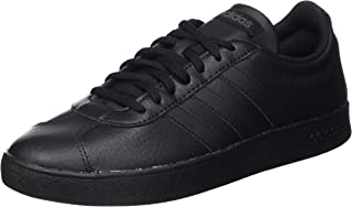 Adidas VL Court 2.0 Stitched Tongue Logo Lace-Up Skateboarding Shoes for Men