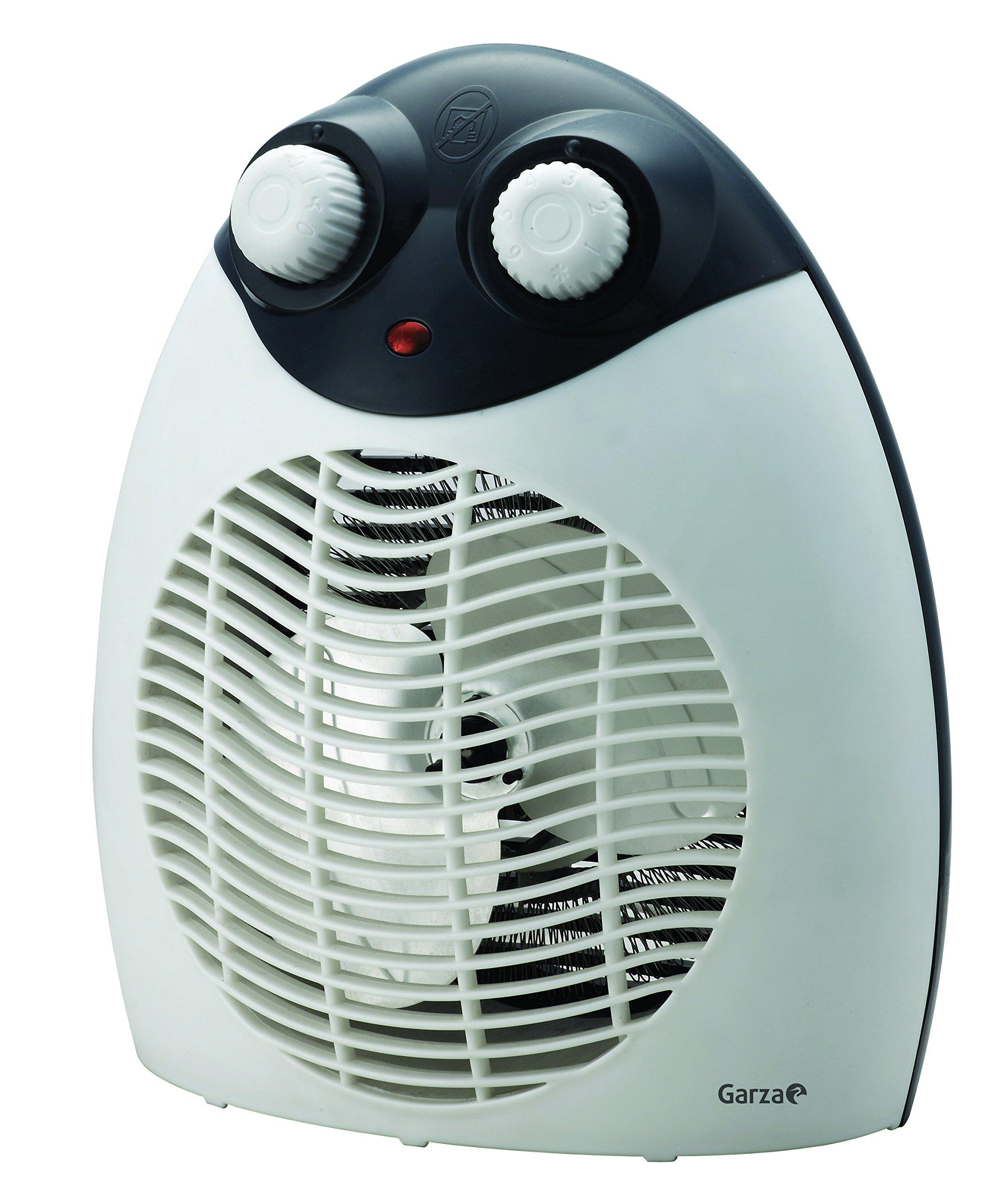 Garza Vesta - Calefactor termoventilador eléctrico de sobremesa ...