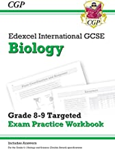 New Edexcel International GCSE Biology: Grade 8-9 Targeted Exam Practice Workbook (with answers) (CGP IGCSE 9-1 Revision)