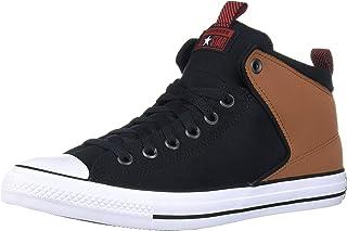 حذاء رياضي برقبة عالية من الجلد السويدي من Converse Chuck Taylor All Star Street