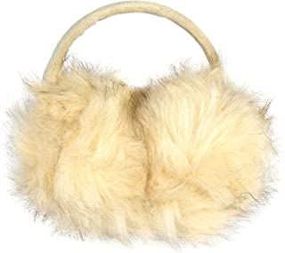Luxurious Faux Fur Winter Chic Earmuffs- Adjustable Large Oversized Soft Furry Ear Warmers