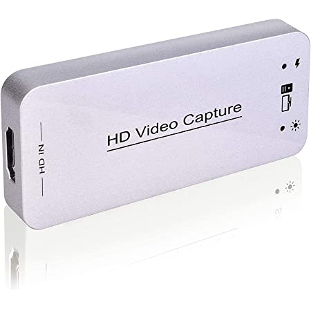 HDMI to USB 4K 1080P 60fps Video Capture ZI YOUREN Audio Video Capture Card Reliable Portable Video Converter for Game Streaming Live Broadcasts Video Recording