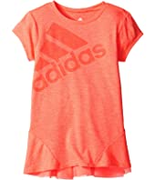 adidas Kids - Performance Melange Top (Big Kids)