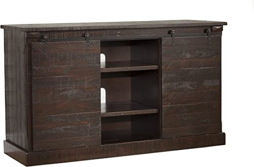 TV & Media Furniture ✅Martin Svensson Home 90938 Hillsboro 60″ TV Stand, Espresso