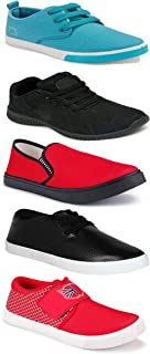 Shoefly Sports Running Shoes/Casual/Sneakers/Loafers Shoes for MenMulticolors (Combo-(5)-1219-1221-1140-748-1024)