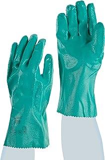 Ansell Sol-Knit 39-122/8 Nitrilo guante, Protección contra