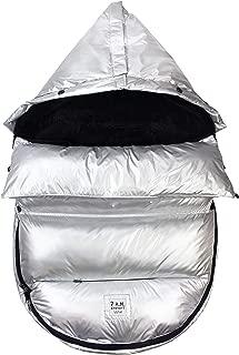 7 A.M. Enfant GlacierPod Stroller and Car Seat Footmuff, Convertible into a Single Panel Cover (Glacier, Small/Medium)