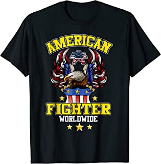 AMERICAN FIGHTER WORLD WIDE T-Shirt