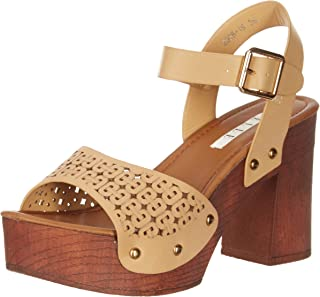 ELLE Women's Beige Fashion Sandals-3 UK/India (36 EU) (2008-1B)