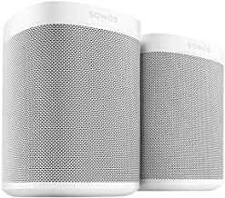 Two Room Set with All-New Sonos One - Smart Speaker with Alexa Voice Control Built-in. Compact Size with Incredible Sound ...