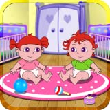 Alice's playingtime with baby twins - free kid games