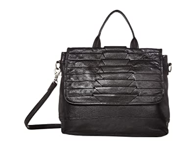 Day & Mood Brenna Top-Handle (Black) Handbags
