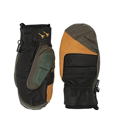 Black Diamond Spark Johnny Mitts (Burnt Olive) Ski Gloves