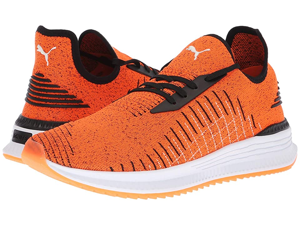 PUMA Avid evoKNIT (Shocking Orange/Puma Black/Puma White) Men