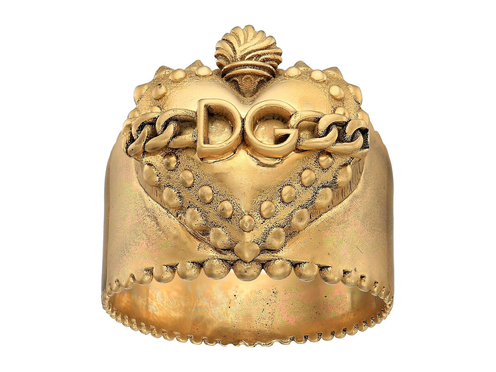 Anillo para Hombre Dolce andamp; Gabbana Sacred Heart Ring  + Dolce & Gabbana en VeoyCompro.net