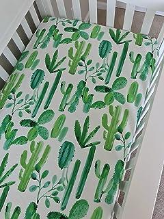 Crib Sheet - Watercolor Cactus