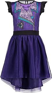 Disney Descendants Mal Girls Costume Dress