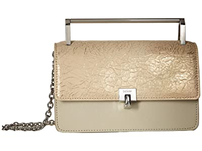 Botkier Lennox Crossbody (Cracked Gold) Cross Body Handbags