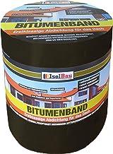 10 m x 300 mm isolatie aluminium bitumenband dakreparatie aluminium band reparatieband dak aluband zelfklevende kleur: zwart