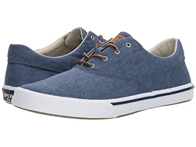 Sperry Striper II CVO Washed (Navy) Men