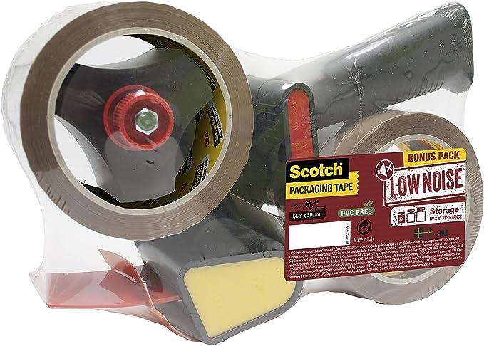 1446 opinioni per Scotch Tendinastro Dispenser per nastro da imballaggio 3M, Avana, 50 mm