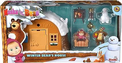 Simba Masha and The Bear - Winter Bear's House Playset