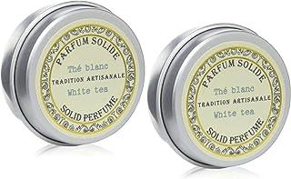 Senteur et Beaute(サンタールエボーテ) フレンチクラシックシリーズ 練り香水 ホワイトティー2個セット