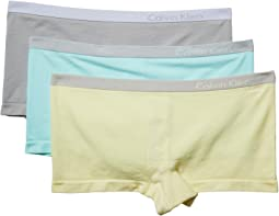 Pure Seamless 3-Pack Boyshorts