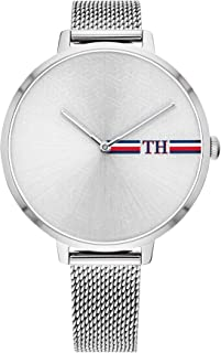 Tommy Hilfiger Women'S Silver White Dial Stainless Steel Watch - 1782157