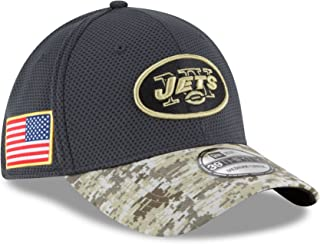 New Era Men's NFL New York Jets 16 Salute to Service Sideline Hat