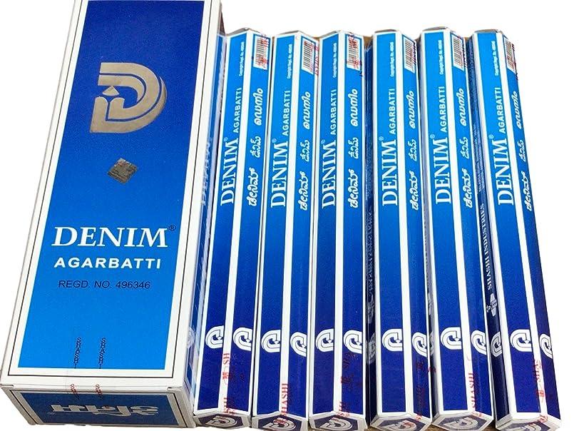 のどブラストリンケージSHASHI シャシ デニム DENIM デニム ステック お香 6本 セット