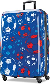 American Tourister Moonlight Spinner 28, Red/White/Blue