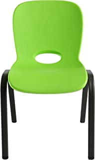 Lifetime 80473 Kids Stacking Chair (4 Pack), Lime Green